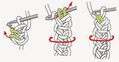Afbeeldingsresultaat voor koordje haken