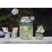 wine enthusiast companies mason jar beverage dispenser. Black Bedroom Furniture Sets. Home Design Ideas