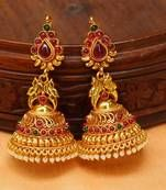 Latest design of Jhumkas online shopping, Shop unique and beautiful Jhumki collections at best prices ☆ Free Shipping ☆ Hassle free returns. Jhumka Designs, Gold Earrings Designs, Gold Designs, Antique Jewelry, Silver Jewelry, Gold Jhumka Earrings, Bridal Makeover, Silver Jewellery Indian, Designer Earrings