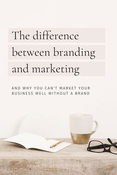 The difference between branding and marketing — Intentionally Designed – Business marketing design