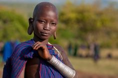 Surma Girl, Ethiopia