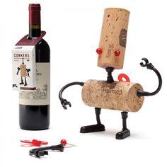 Korken-Roboter Corkers Robots, Luke - Monkey Business #cork #robot