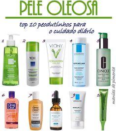 Manias de Pimenta: Top 10: Produtos para pele oleosa