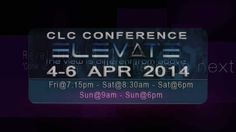 CLC ELEVATE CONFERENCE - 2014 Clc, Guy Names, Point Of View, Conference, How To Plan, Invite, Youtube, Life, Watch