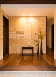 Japan Illustration Map - Japan Travel 10 Days - - - - Kyoto Japan At Night Interior Architecture, Interior Design, Japan Architecture, Japanese Modern House, Wooden Accent Wall, Wood Cafe, Wall Design, House Design, Japan Interior