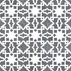 Carrelage imitation anciens carreaux de ciment d cor formes g om triques 20x2 - Acheter carreaux de ciment ...
