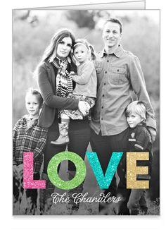 Shining Love 3x5 Folded Card by Vanilla Print | Shutterfly