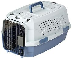 AmazonBasics 19Inch TwoDoor TopLoad Pet Kennel *** Click image to review more details.-It is an affiliate link to Amazon. #CatCages