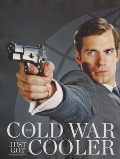 Henry Cavill News: Hotness Alert: New The Man from U.N.C.L.E. Stills, Solo Interview