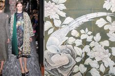 Floral Fabrics Parade Down Paris Runways Photos | Architectural Digest