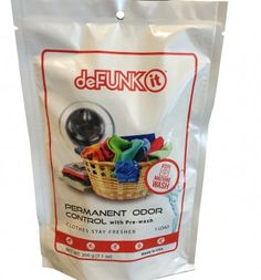 deFUNKit Permanent Odor Control Machine Wash Size - Official Website of deFUNKit