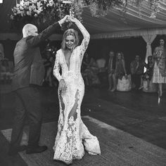 The amazing Sylvia and Tom enjoying their first dance together here at THE GROVE surrounded by all their family and friends. @lucasandcophotography Dress @mxm_couture  @byronbayweddings tap for credits by thegrovebyronbay