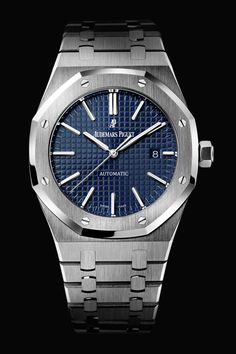 Royal Oak Selfwinding 15400ST - Blue dial - Audemars Piguet Luxury Watches #AudemarsPiguet