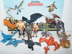 12 How to Train Your Dragon Figure Set by jenuinecraftsandmore