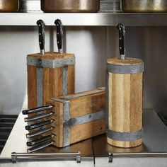 Toscana Industrial Knife Block