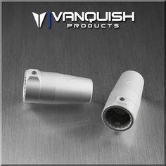 VPS03221 - Vanquish Axial Wraith/AX10/Yeti Yeti Aluminum Lockouts - Silver - CKRC Hobbies  - 1