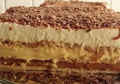 Archívy Zákusky - Page 34 of 72 - Receptik. Thing 1, Sweet Desserts, Tiramisu, Cheesecake, Food And Drink, Meals, Ethnic Recipes, Cakes, Food