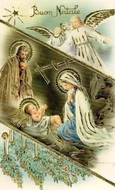 Baby Jesus w Angels Fantastic Xmas Glossy Emboss Gold Vintage PC 1930 Christmas Scenes, Christmas Nativity, Christmas Past, Christmas Wishes, Christmas Pictures, Christmas Angels, Christmas Glitter, Vintage Greeting Cards, Vintage Christmas Cards