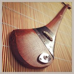 One-string Celtic diddley bow made out of a by DASHTICKguitars