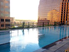 The rooftop pool. JW Marriott Austin, Texas - This Beautiful Day