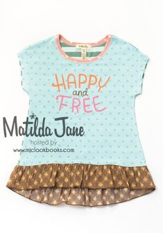 MJC Lines | Mjc LookBooks - Happy and Free Graphic Tee (RV $36) 2-10 ~ Happy and Free (Spring 2016)