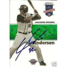 Lars Anderson Autograghed Card - Yahoo!検索(画像)