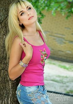 Young Russian lady Elena from Kharkov, 31 yo, hair color Blond