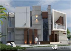House design, modern house design, minimalist home, design architect, archi Minimalist House Design, Modern House Design, Residential Architecture, Modern Architecture, Archi Design, Design Design, Architect Design House, Small Villa, Modern Townhouse