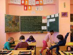 Waldorf School Warsaw. Waldorf classroom
