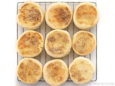 Homemade English muffins are fun to make, delicious, and cost just pennies each. Make this your next weekend project! Step by step photos.