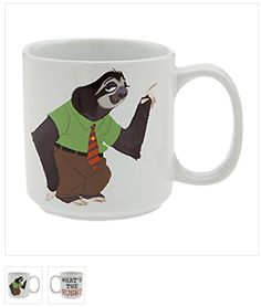 Disney Zootopia Flash What's the Rush? Mug