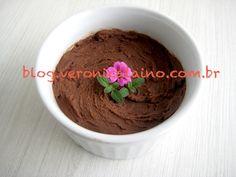 Mousse de Chocolate Amargo com batata doce _Blog VerônicaLaino