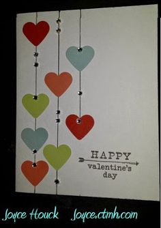 Joyful Creations by Joyce Houck: Feb blog hop #C1605HappyToBeFriends