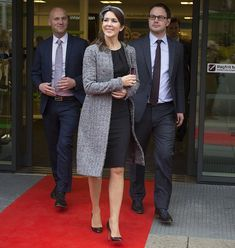 Crown Princess Mary at the opening of the second half of the new emergency hospital in Randers