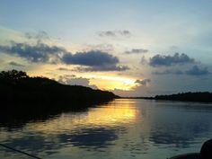 Mandinga lake. Veracruz México