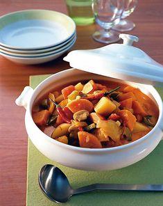 Süßkartoffel-Paprika-Ragout Rezept - [ESSEN UND TRINKEN]