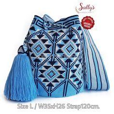 Wayuu-Taschenmodell - Canan Al - - Wayuu-Taschenmodell - Canan Al Tapestry Bag, Tapestry Crochet, Handmade Handbags, Handmade Bags, Crochet Purses, Crochet Bags, Filet Crochet, Diy Crochet, Wiggly Crochet