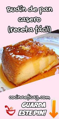 Puerto Rican Bread Recipe, Fun Desserts, Delicious Desserts, Mexican Food Recipes, Sweet Recipes, Boricua Recipes, Mexican Bread, Puerto Rico Food, Flan Recipe
