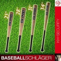 WEAPON I: Baseballschläger Holz 25 28 31 34 Zoll