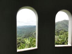Puerto Rico -- tour of the rainforest