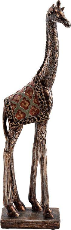 Artikeldetails:  Im afrikanischen Stil, Ein Hingucker, Detailreiche Figur,  Maße:  Maße (B/T/H): 6/9/34,5 cm,  Material/Qualität:  Polyresin,  ...