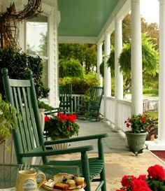 Decorative porches are a nice way to say Welcome to all the quests, coming to your house. Even in the back yard, back porch ideas are a good way to surprise your family in the spring or summer.