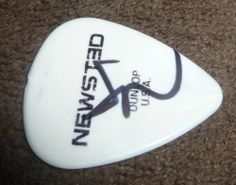 Jason Newsted Signed Heavy Metal Music 2013 Tour Guitar Pick w Proof Metallica