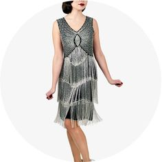 The Dress, The Suit, The Style: 1920s Glamour | somethingborrowed