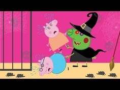 Peppa Pig English Character Episodes Spiderman Saves Peppa Pig From Witch #1 - YouTube