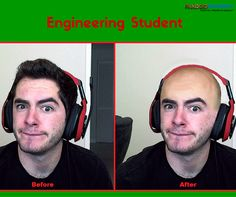 Engineering Students - Before and After :) www.faadooengineers.com