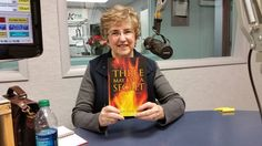 Speaking about my book signings and book on WGIL radio, Galesburg, Illinois.