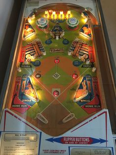 Playfield from Gottlieb's Baseball