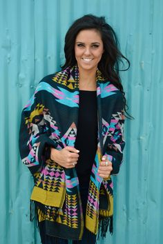 Phoenix Tribal Shawl from Shop Southern Roots TX