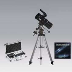 Zhumell Eclipse 114 with Motor Drive Telescope Bundle $210 With lenses for sun/planet/moon viewing